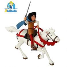 Johan et son cheval