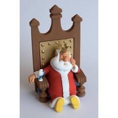 Le Roi et le Schtroumpf