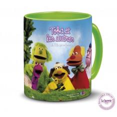 Tasse céramique Casimir et ses amis de L'île aux enfantsToba et les autres de L'île aux enfants