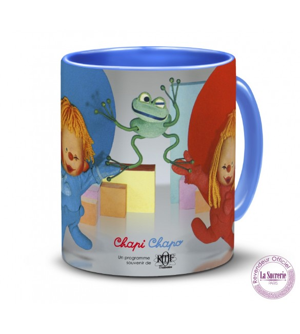 Tasse céramique Chapi Chapo et le crapaud