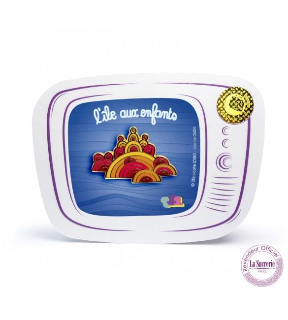 Pin's haut de gamme logo générique de L'île aux enfants